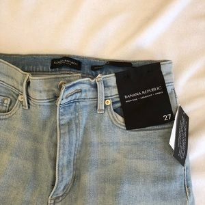 Banana Republic, High Rise, straight ankle jeans
